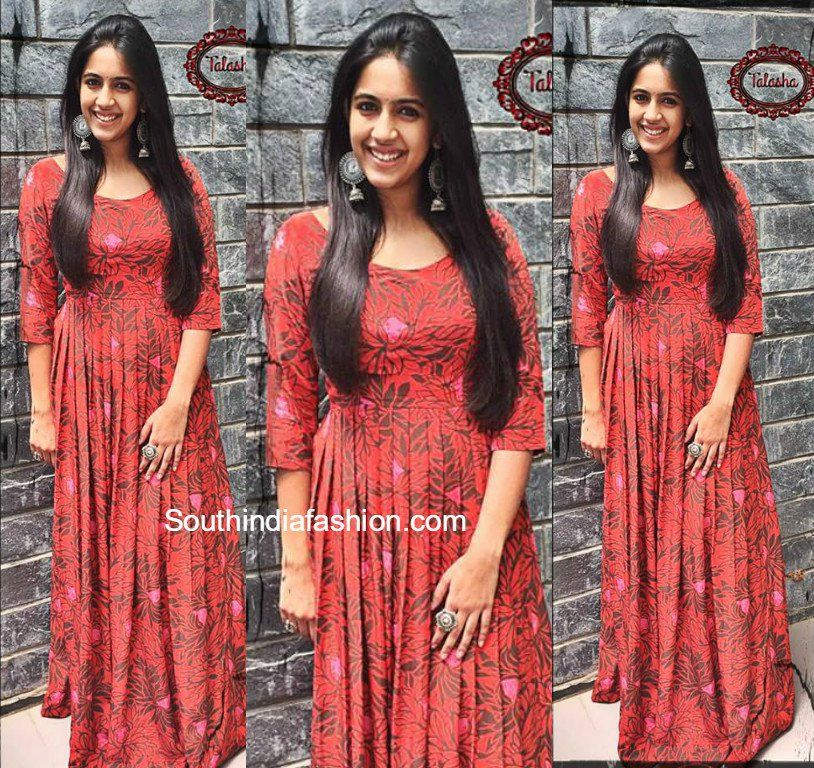 Niharika Konidela in Shweta Puthran Fashion, Dresses