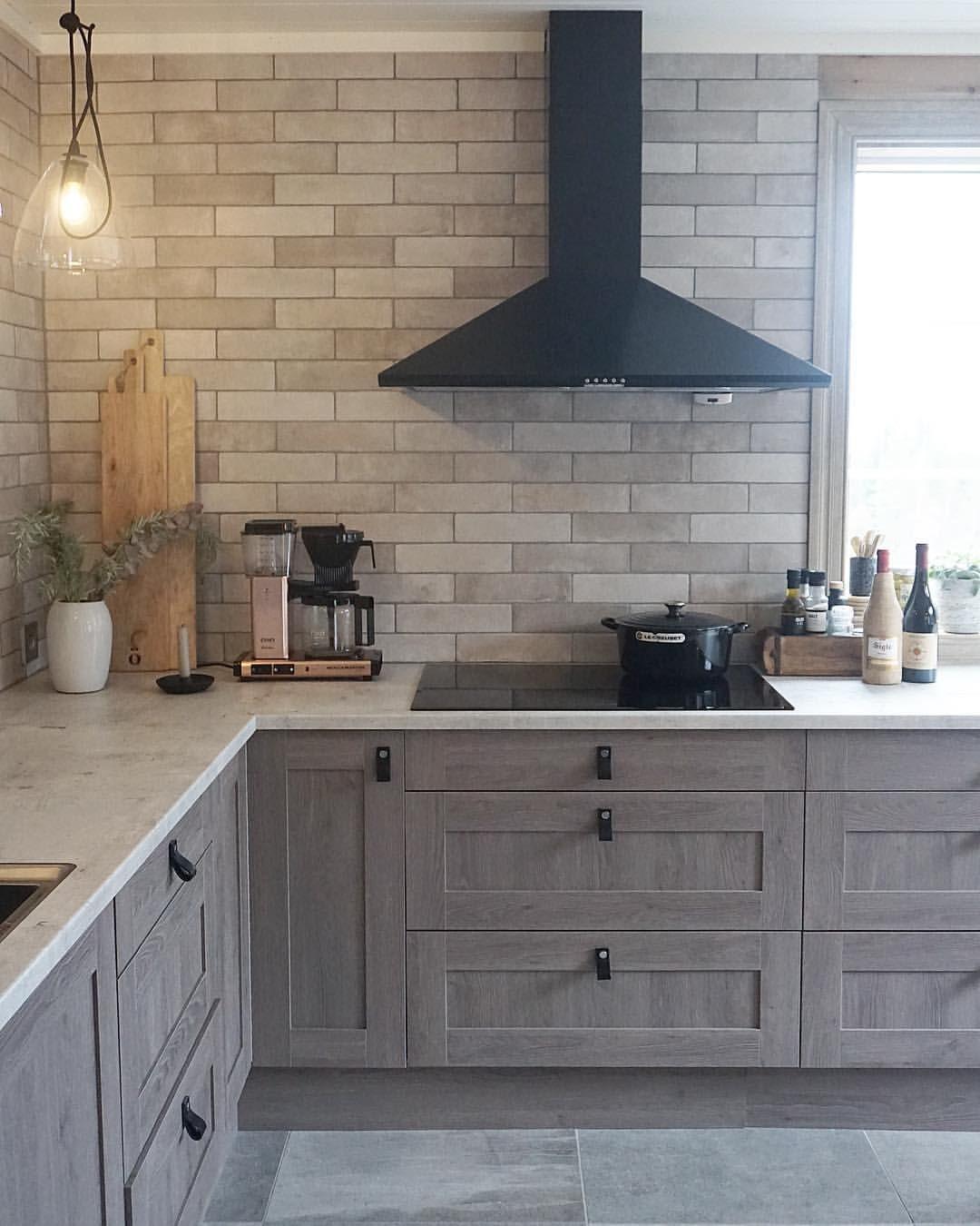 Cabin kitchen nydelig med h stferie og litt ekstra tid p dette kj kkenet kan ikke skryte p - Kuchenfliesen landhaus ...