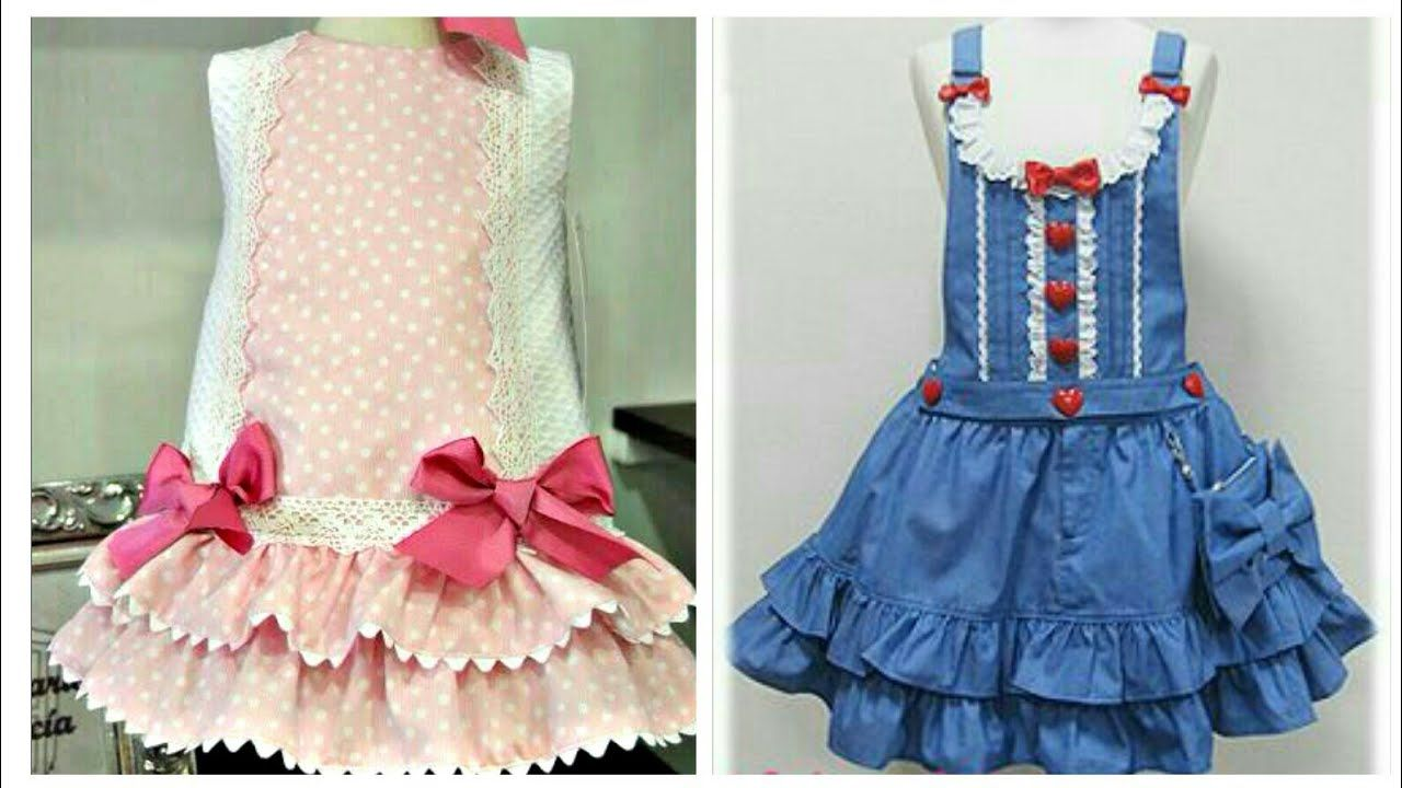 9c89c9a24f3f Simple   Stylish Cotton Frocks Designs For Kids - Easy To Make At ...