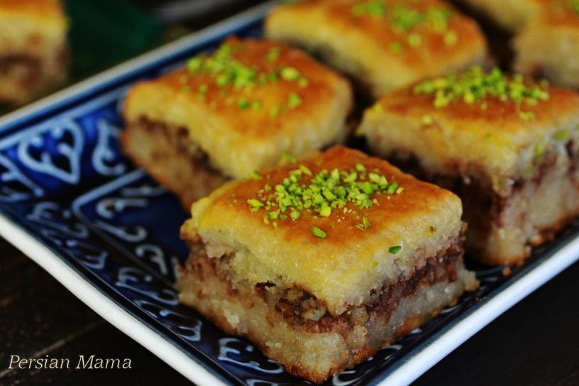 Baghlava cake | shabe yalda | Recipe in 2019 | Persian ...