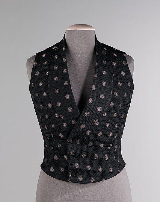 Gentleman's Waistcoat, 1845-60