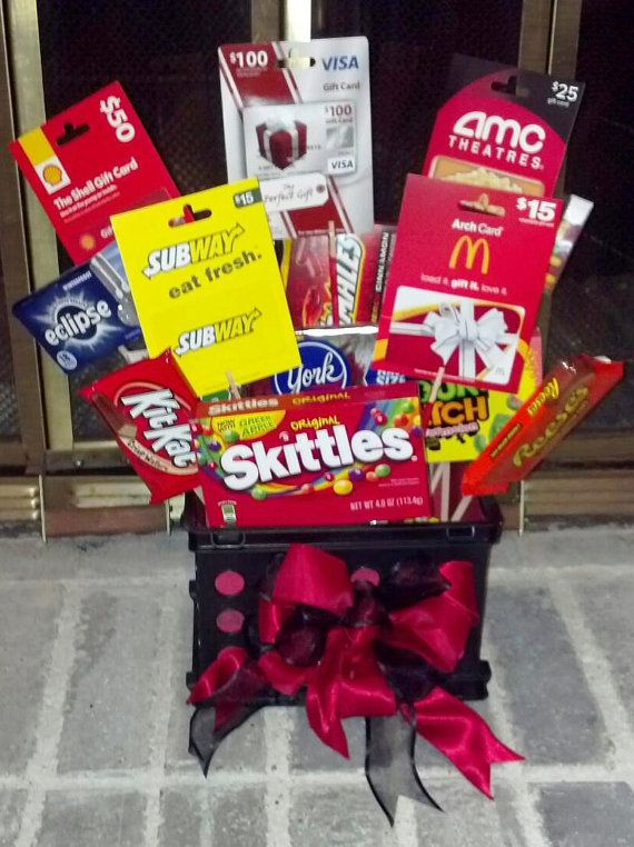 Custom candy basket by craftygirldesignbyak on etsy 3500 gift find this pin and more on gift card baskets negle Images