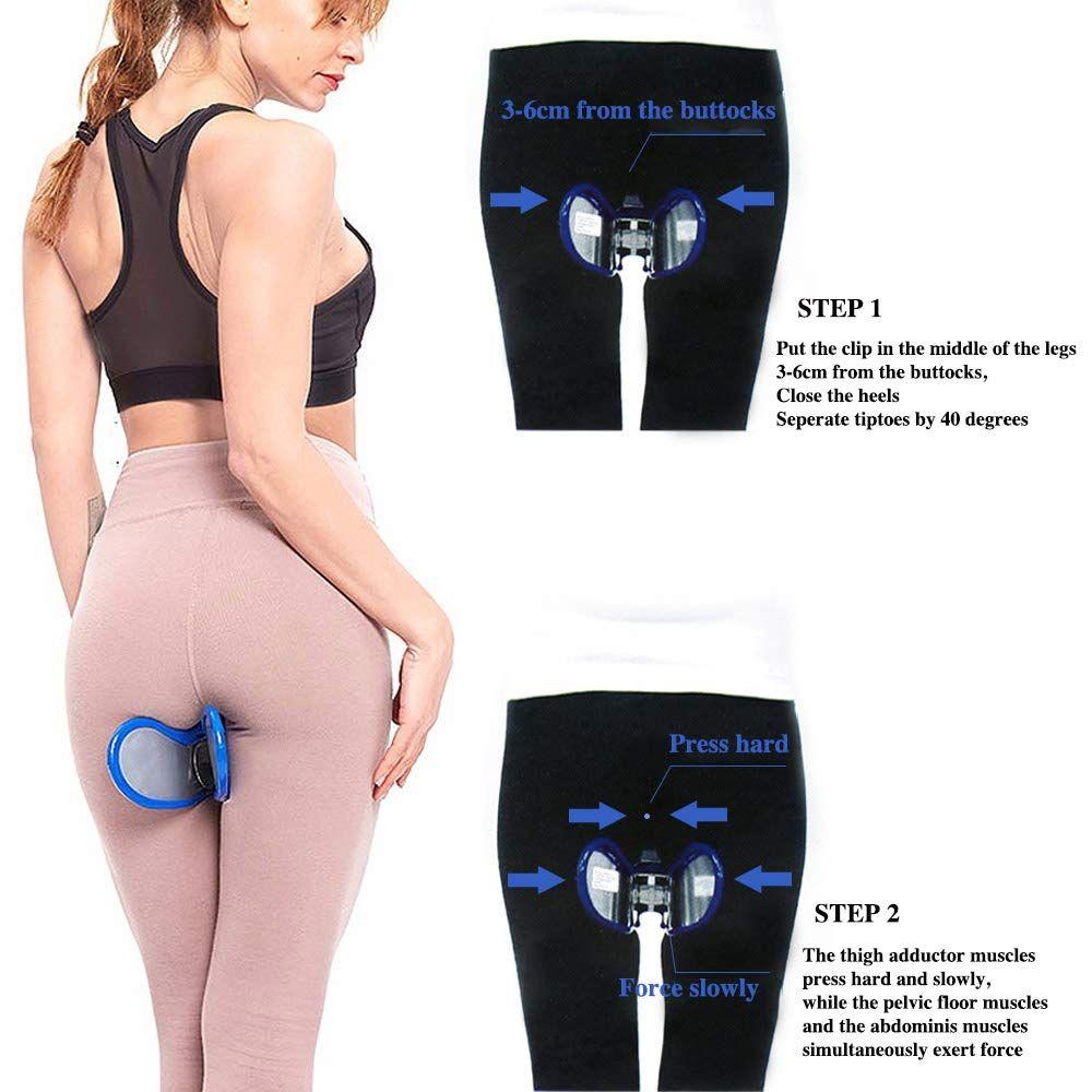 Hip Trainer Pelvic Floor Muscle Inner Thigh Buttocks Leg Body Exerciser Fitness