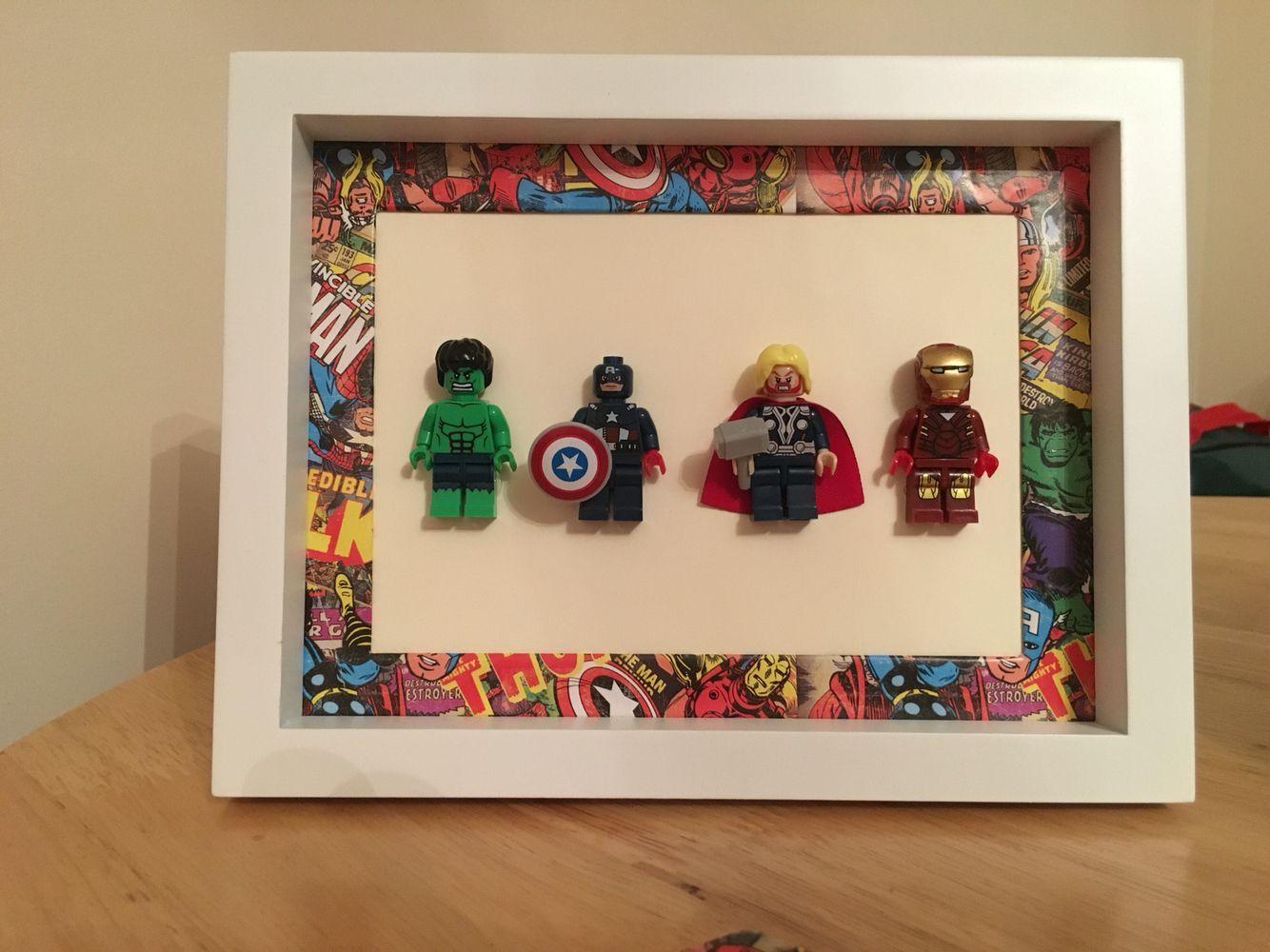Lego Avengers Rahmen Avengers Lego Rahmen Lego Frame