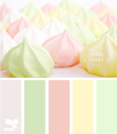 color fluff #designinspiration f0e8e8,d3e6bd,f5c9c4 fff7c9,e4fad7 #colorscheme #colorpallet #hexcode