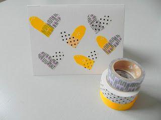 Washi Tape Valentines Cards ♥ handmade