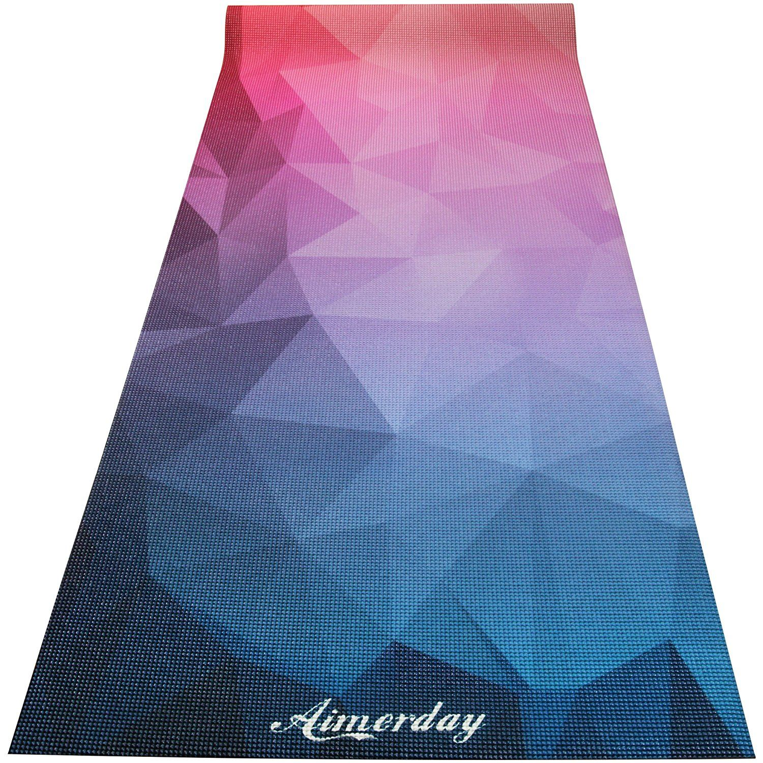 friendly density premium slip printed pin mats aimerday yoga anti eco mat non high