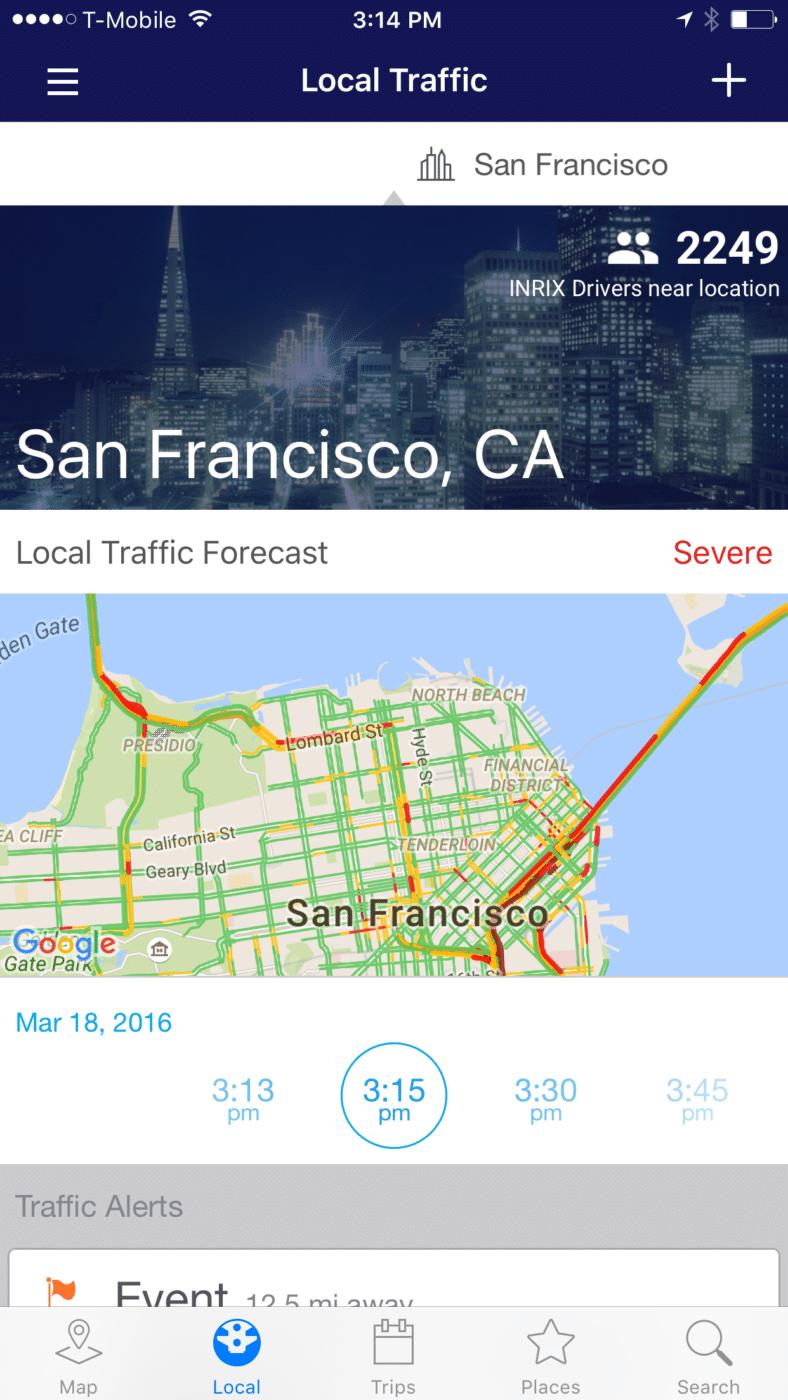 INRIX Traffic Mobile App Learn Driving Habits - http://www.predictiveanalyticstoday.com/inrix-traffic-mobile-app-learn-driving-habits/