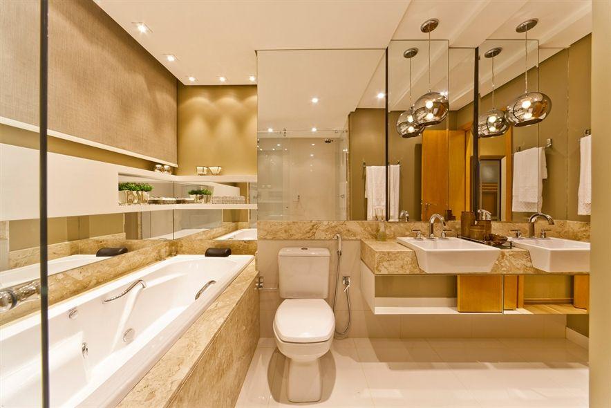 banheiros modernos e sofisticados  Pesquisa Google  Banheiros  Pinterest  -> Banheiros Decorados Suite