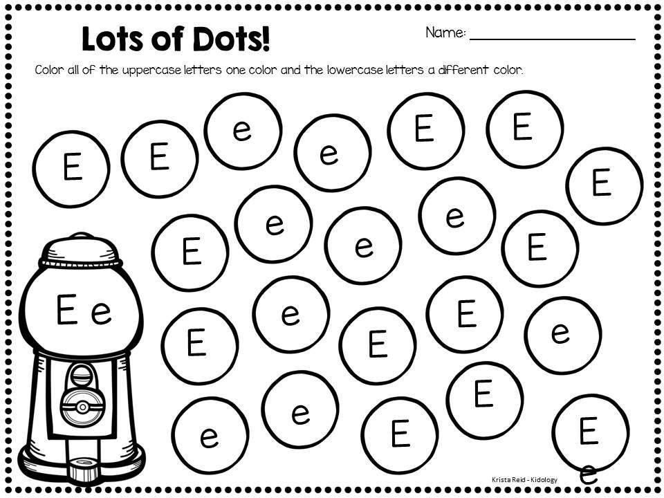 Lujoso Alfabeto Hojas De Trabajo De Bingo Dauber Modelo - hojas de ...