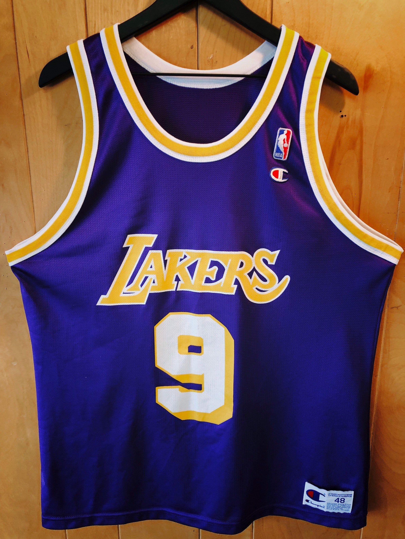 Los Angeles Lakers - Nick Van Exel - Champion Jersey - Mens Size ...