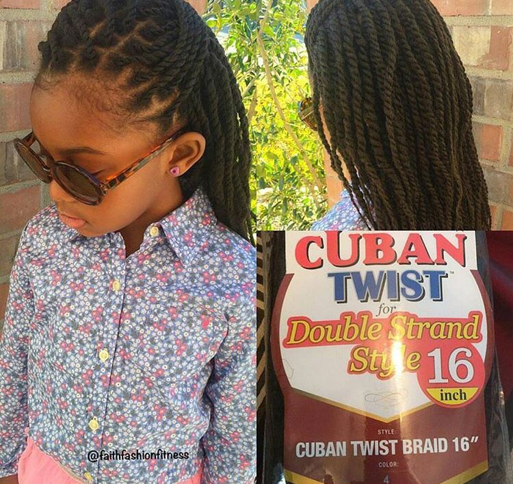 Mini Twists With Marley Hair