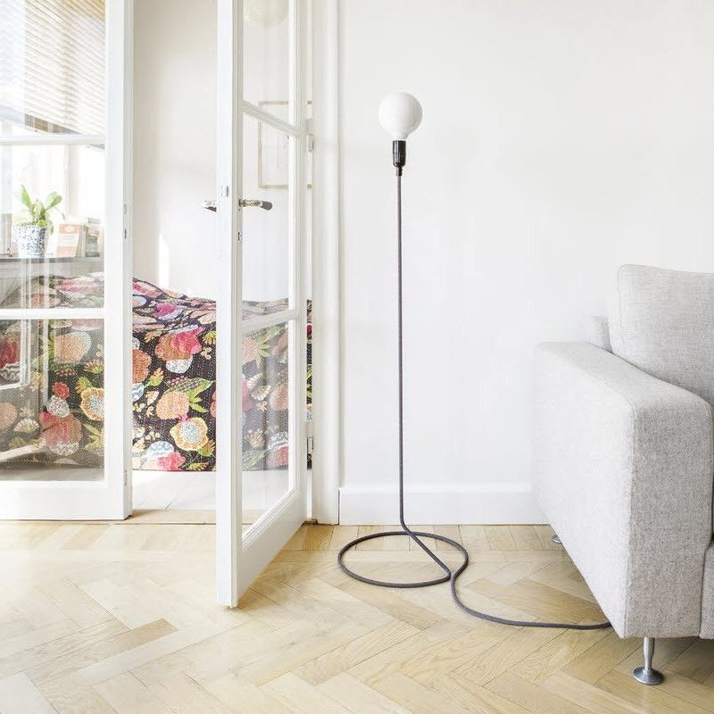 Design House Stockholm Cord Lamp In 2019 Floor Standing Lamps