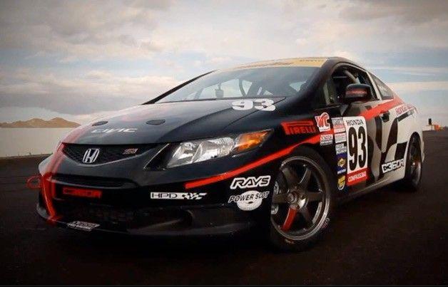 Watch Honda Transform A Stock Civic Si Into A Race Car Honda Race Cars Car