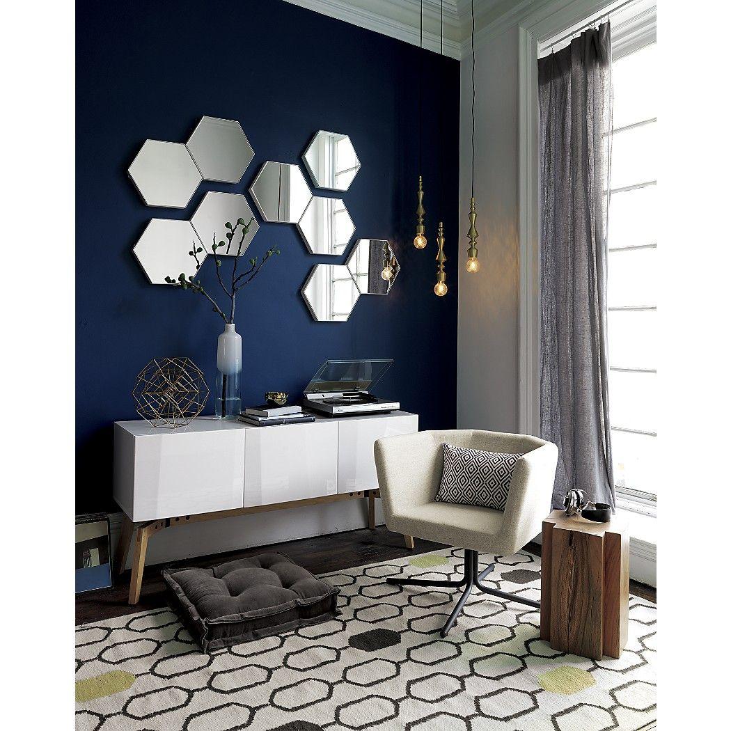 Cb2 Hexagon Mirrors What S The Budget Per Elevator Lobby 3 Sets Of These 9 Mirrors Could Lo Specchi Soggiorno Design Di Interni Moderno Idea Di Decorazione