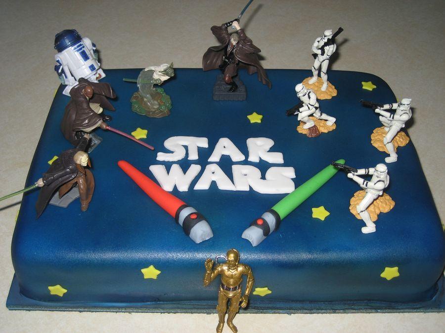 Star Wars Birthday Cake Star wars birthday cake, Star