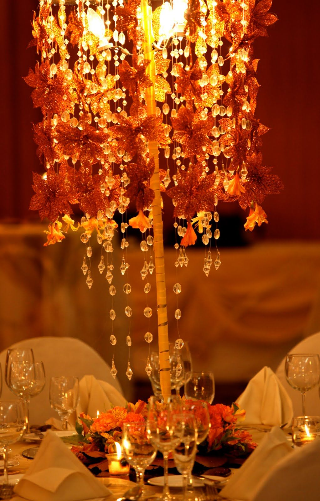 autumn wedding centerpieces image sources clockwise from upper left