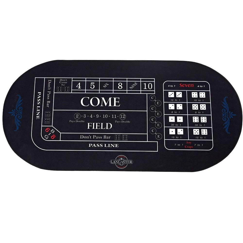 Lancaster 2 in 1 Casino Conversion Poker Table Craps Card
