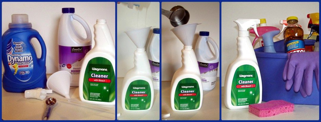 DIY Bleach Cleaner Recipe Cleaning, Cleaners, Cleaning