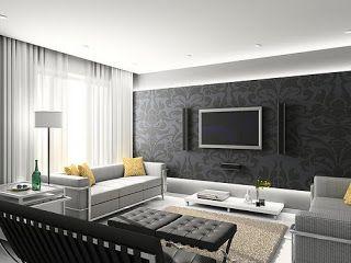 indirect lighting ideas tv wall. Curtains Hidden By Ceiling \u0026 Indirect Lighting Ideas Tv Wall O