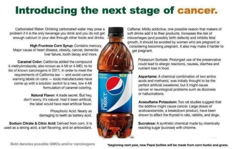 """New Pepsi """"Next"""" MUST READ THIS!!"""