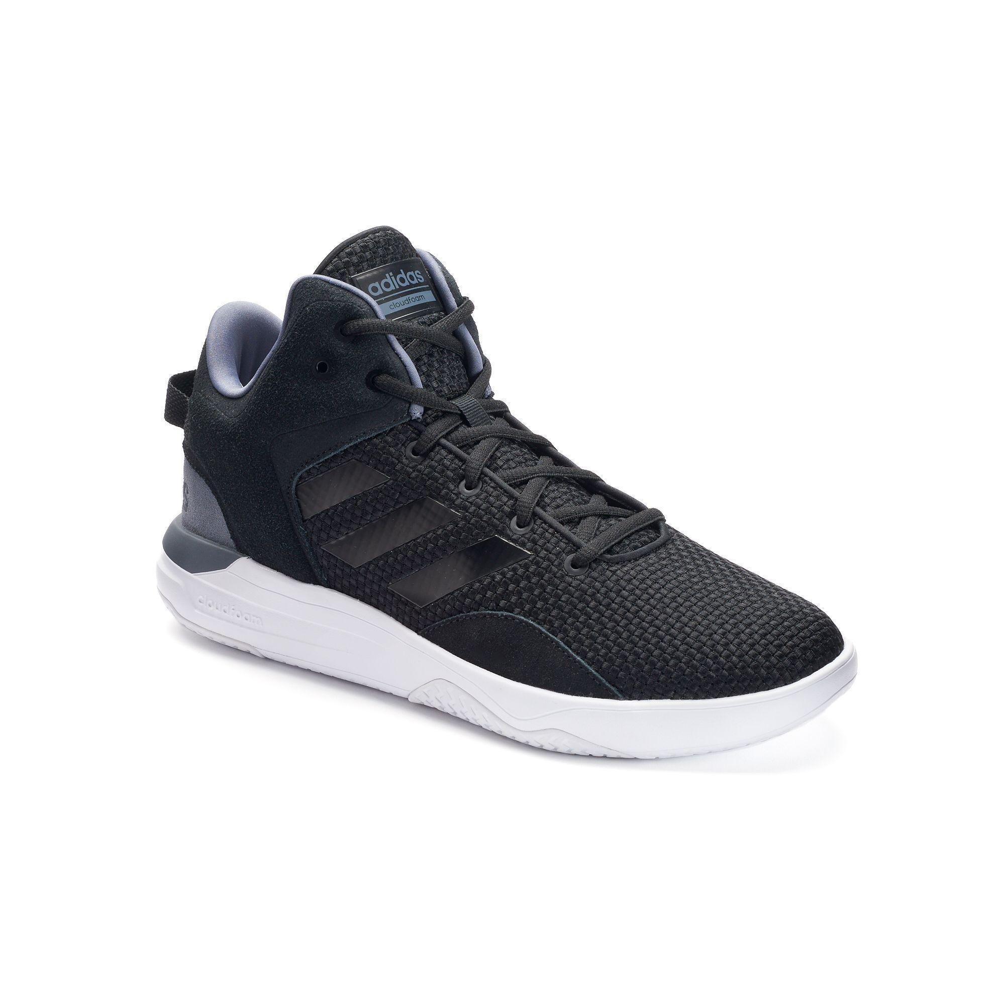 adidas neo cloudfoam revival uomini metà sopra le scarpe, dimensioni: nero