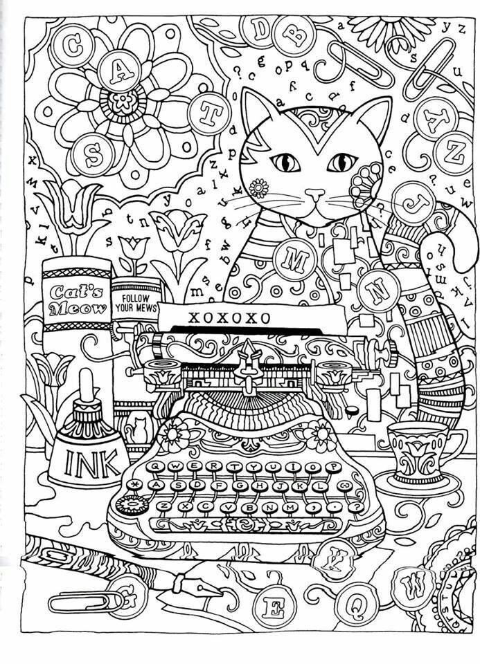 Pin de Olivia Yazzie en Adult Coloring Pages to DeStress | Pinterest
