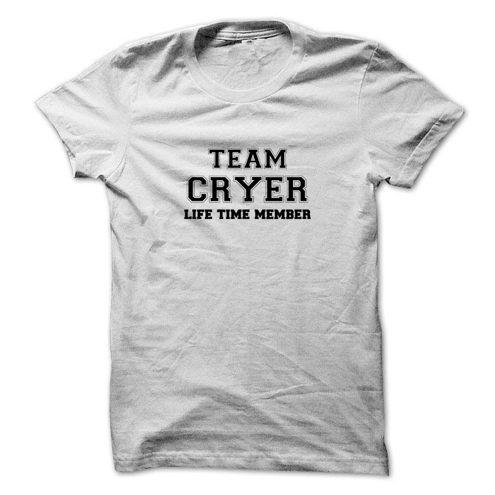 (Tshirt Nice T-Shirt) Team CRYER life time member Discount 20% Hoodies Tees Shirts