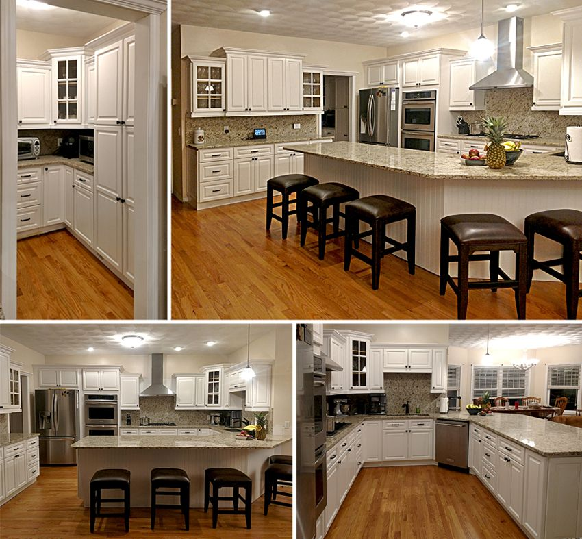 Builders Surplus Testimonials White Kitchen Cabinets Home White Kitchen