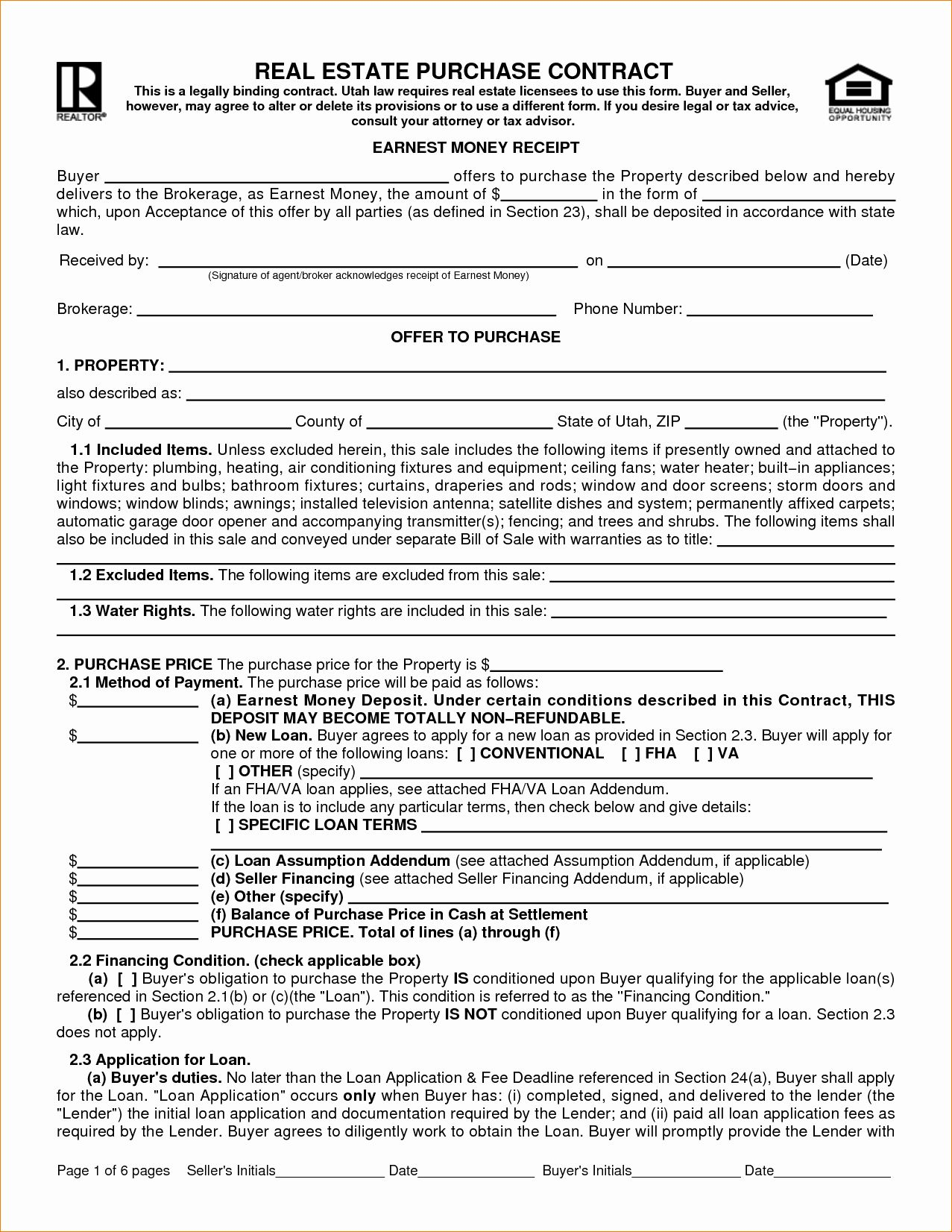 Estate Sale Contract Template New 8 Real Estate Sales Contract Template Real Estate Contract Purchase Contract Contract Template Real estate team agreement template