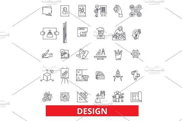 Design Layout Plan Cover Outline Presentation Style Blueprint - Unique outline template for presentation concept