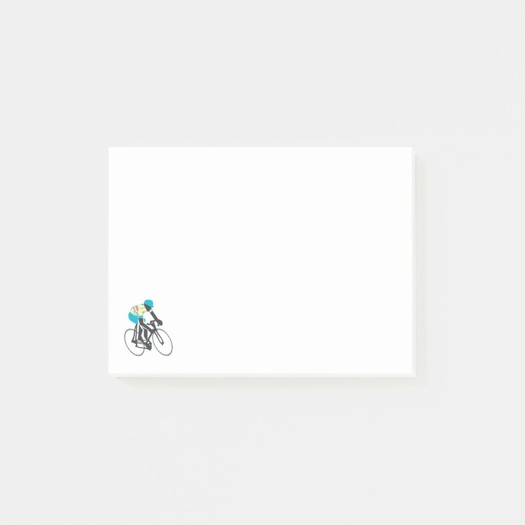 Retrostyle cyclist graphic notes.