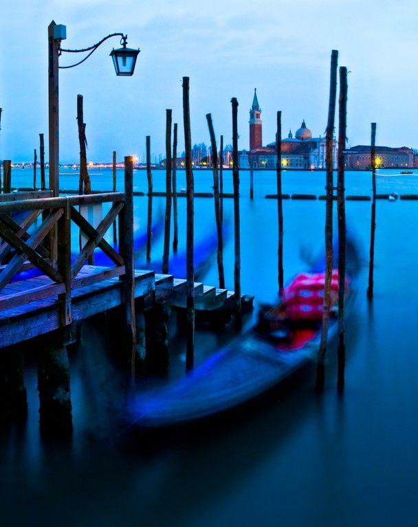 Blue hour at Venice by Zsuzsanna Luciano www.zsuzsannaluciano.com