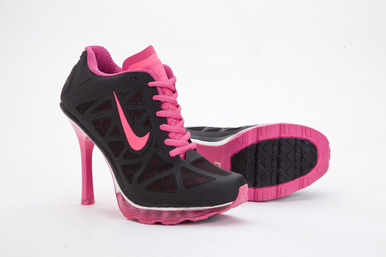 Air Nike Black Cushioning 2014 Boots Pink Max Womens Heels RgxWxqawn