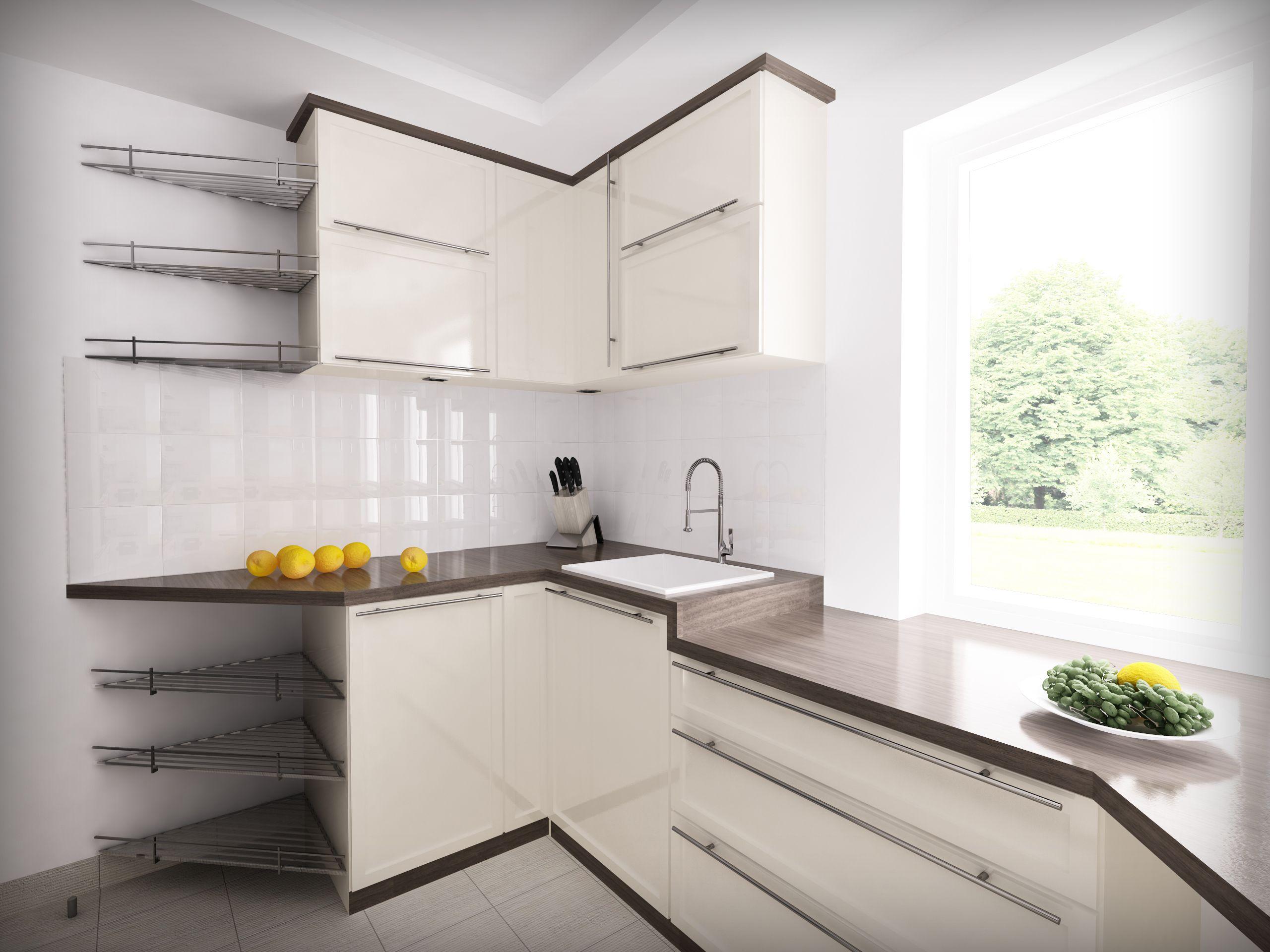 Image Result For Kuchnia Z Niskim Oknem Kitchen Kitchen Cabinets Home Decor
