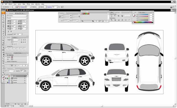 vehicle templates free download