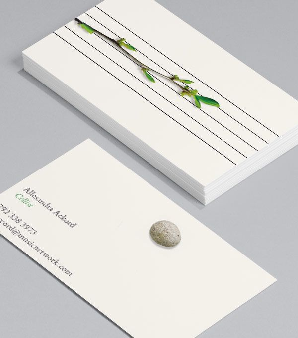 Songs In The Key Of Nature A Simple Card For Musicians Composers Classical Business