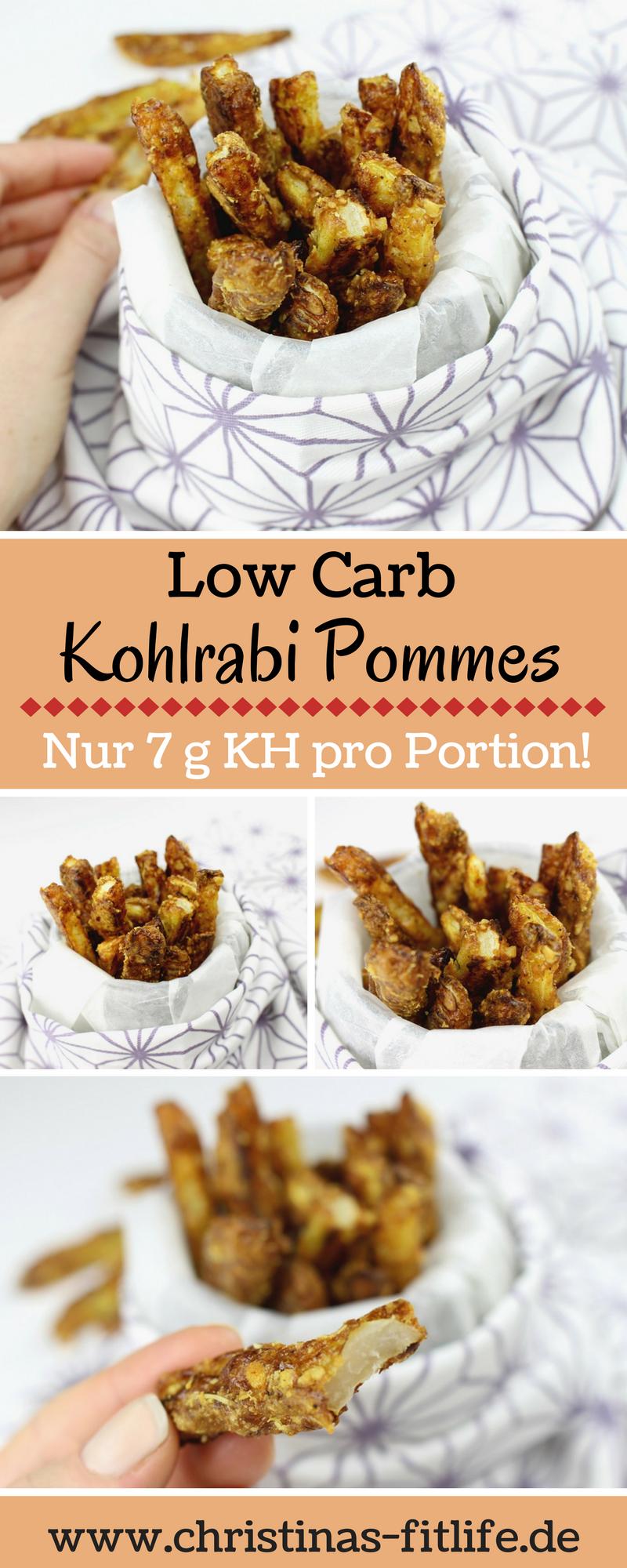 Photo of Low carb kohlrabi fries
