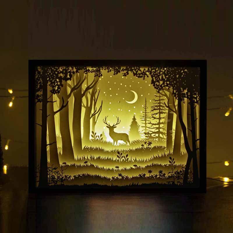 Free Papercut Light Boxes
