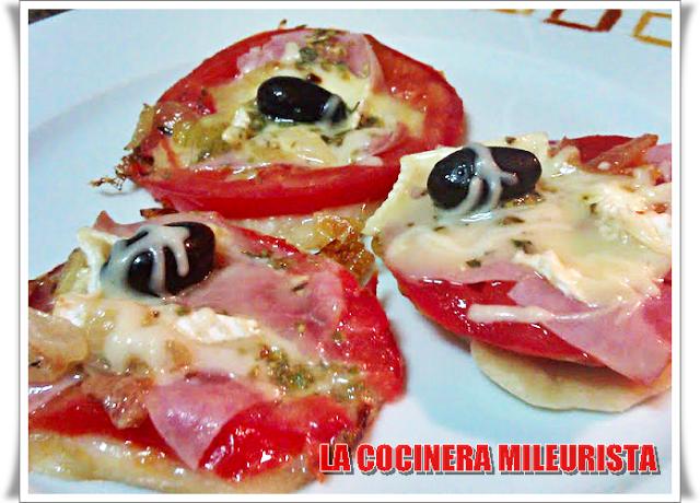 La Cocinera Mileurista: Mini Pizzas en sartén