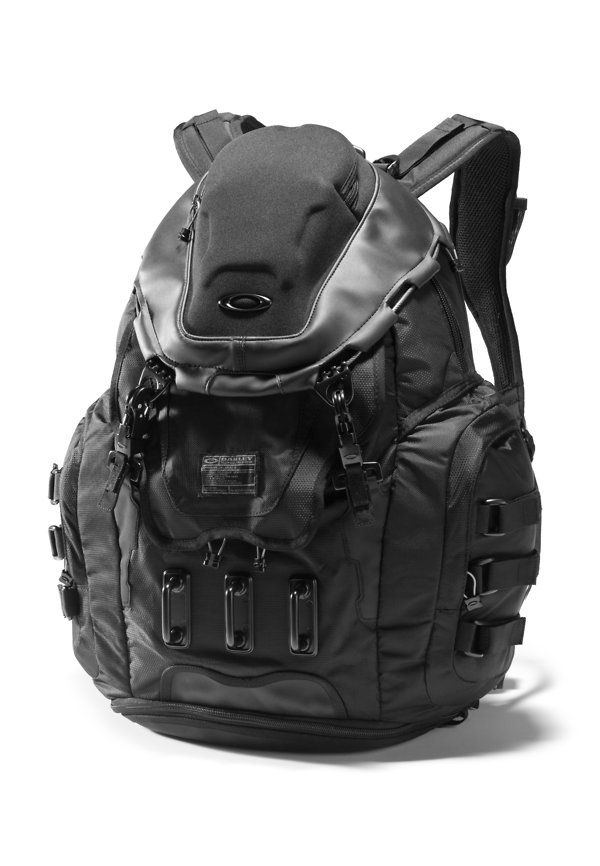 e7b6917fc21 Oakley Stealth Black Backpack. This would go well with goth post  apocalyptic dystopian fashion.