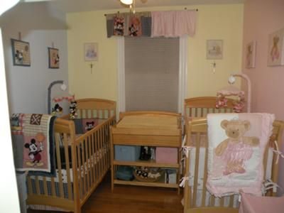 boy girl twin room themes boy girl twins blue pink nursery