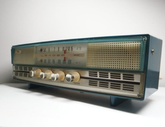 Vintage Rincan Radio Ags Kfaw71 Tabletop Tube By Thewildburro