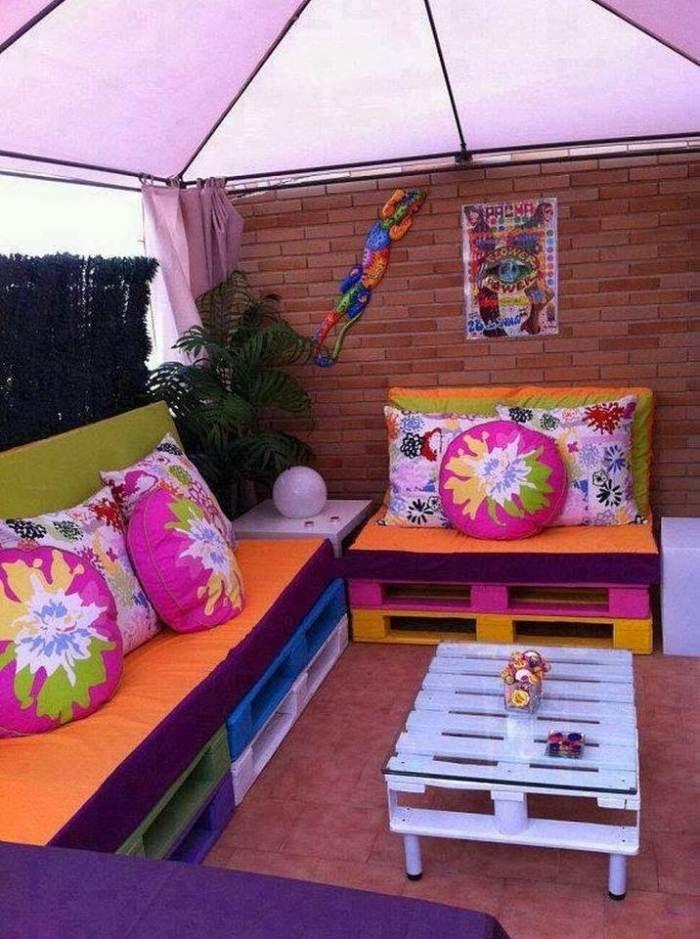 Palette Europe - 39 idées pour en fabriquer des meubles! | terrasse ...