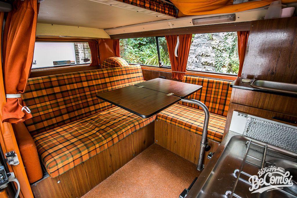 A l\'intérieur de notre Combi Westfalia 1975 | Dream Car | Pinterest ...