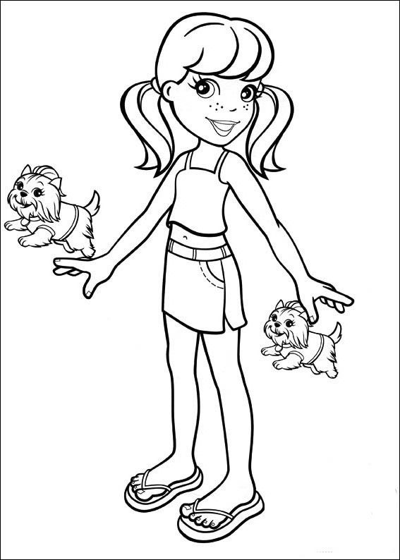 Polly Pocket Coloring Pages Coloring Pages Cute Coloring Pages
