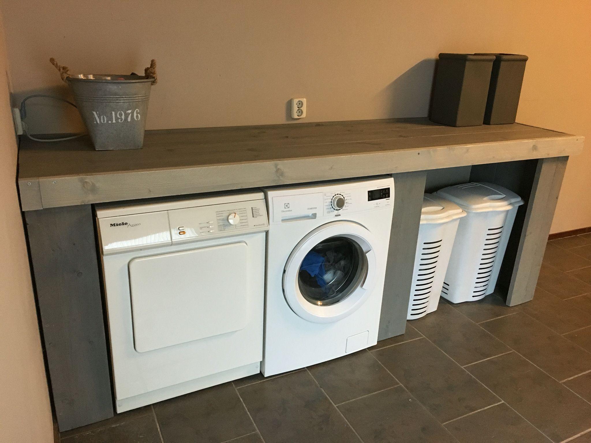 Wasmachine Kast Badkamer : Wasmachine ombouw @simone van zandvoort kleine keuken pinterest
