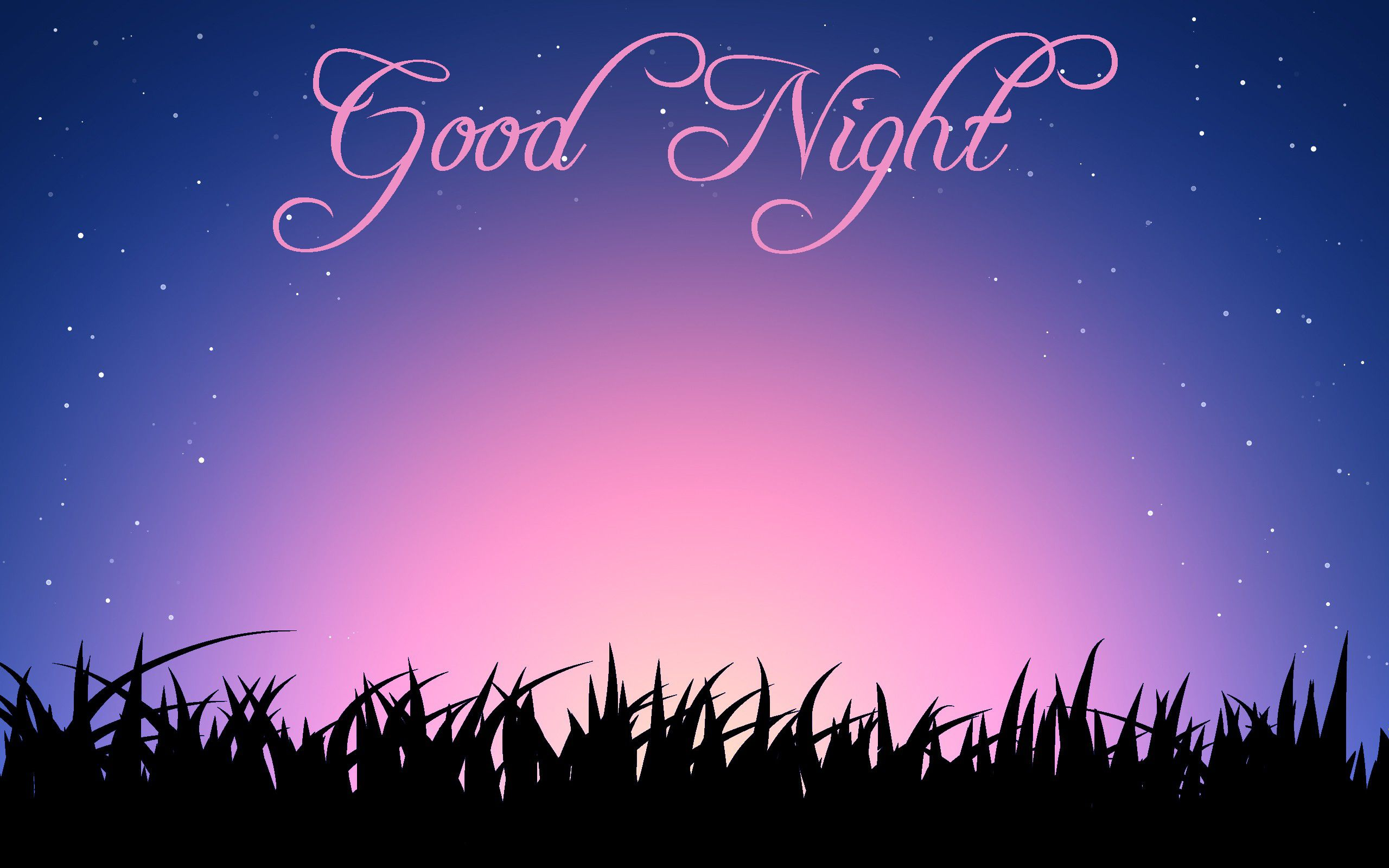 Send Good Night sms online or text it to the your love to wish her