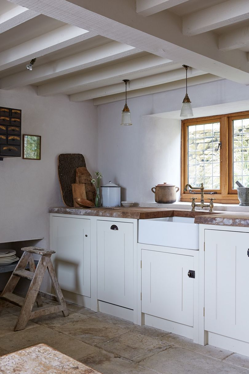 A tiny barn decorated by antiques dealer christopher howe kitchen