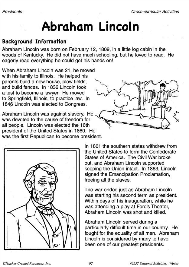 We Celebrate Abraham Lincoln S Birthday On February 12th This